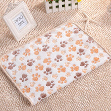Load image into Gallery viewer, Pets Shop Dog Blanket Soft Coral Velvet Dog Shelter Pad Cat Bed Blanket Pets Supplies Pet Mat