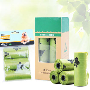 Eco-Friendly Biodegradable Dog Waste Poop Bags Home Kitchen Trash Bag