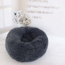 Load image into Gallery viewer, JORMEL 2019 Deep Sleep Dog House Kennel Round Nest Autumn Winter Cat Mattress for Small Medium Dogs