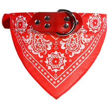 Load image into Gallery viewer, 1pc Fashion Adjustable Dog Supplies Puppy Cat Neck Scarf patterns Bandana With Collar Neckerchief Pet Products Accessories
