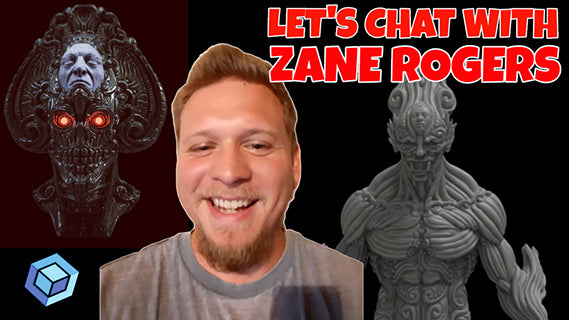 Chat with Zane Rogers: Making Money as a Full Time Digital 3D Artist