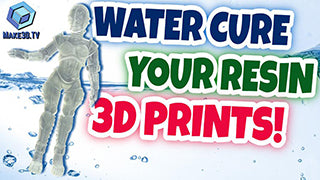 Water Curing: It's the Best Way to Cure Your Resin 3D Prints
