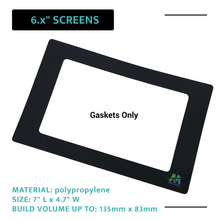 "Load image into Gallery viewer, Mach5ive 3-Pack Stick On Gasket for 3D Resin Printers for 6.x"" Screens - Mach5ive"