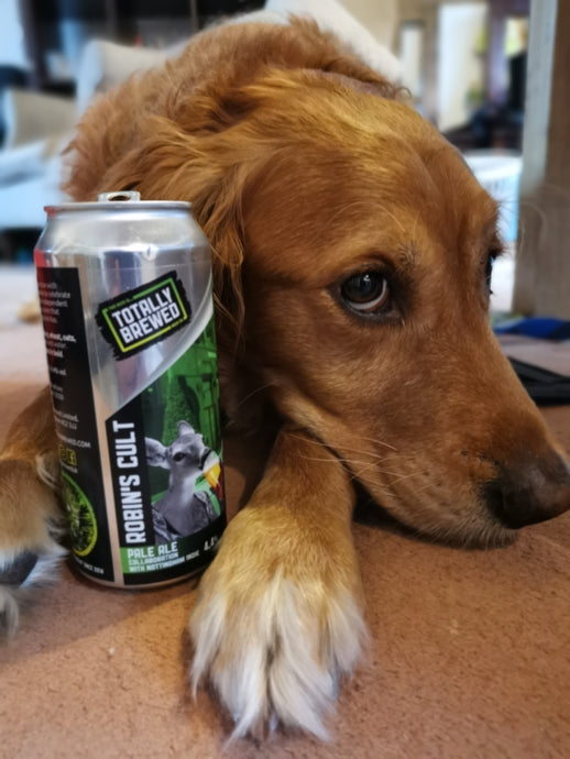 Brewery dog Fuggles has his say.