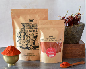 Kashmiri Red Chilli Powder - Kanz & Muhul