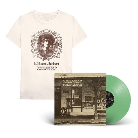 Tumbleweed Connection: Exclusive Green Vinyl + T-Shirt