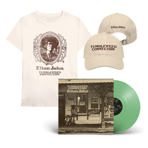 Tumbleweed Connection: Exclusive Green Vinyl + T-Shirt + Cap