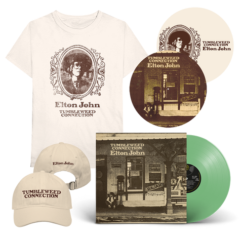 Tumbleweed Connection: Exclusive Green Vinyl + T-Shirt + Cap + Reversible Slipmat