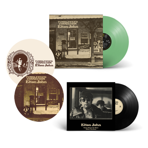 "Tumbleweed Connection: Exclusive Green Vinyl + Come Down In Time (Jazz Version): Exclusive 10"" + Slipmat"