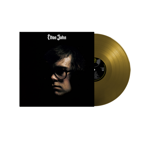 Elton John Self Titled Limited Edition Gold Vinyl