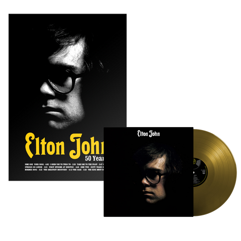 Elton John: 50th Anniversary Lithograph Bundle