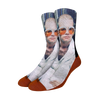Feather Suit Socks
