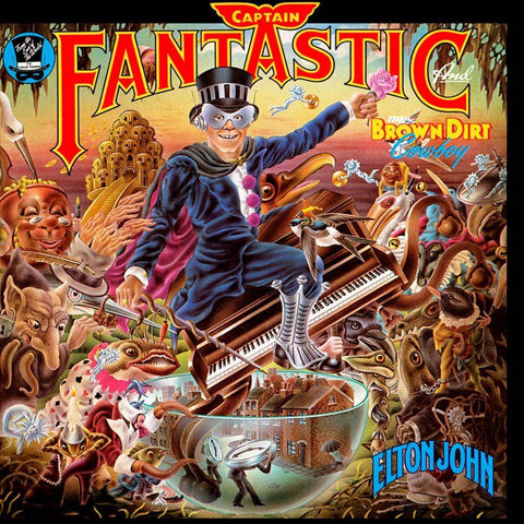 Captain Fantastic And The Brown Dirt Cowboy Remastered CD