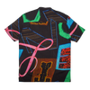 Neon Print Hawaiian Shirt