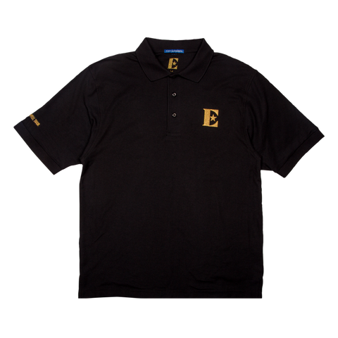 Gold Embroidered Polo Shirt