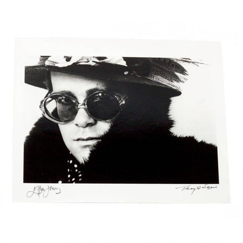 Limited Edition Fine Art Print – Signed by Elton John & Terry O'Neill (1 of 50)