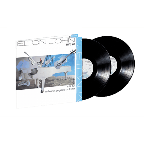Live in Australia with the Melbourne Symphony Orchestra  2LP