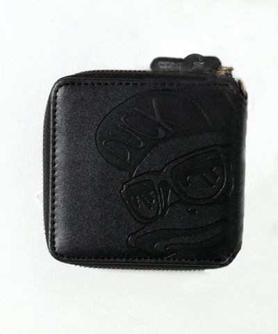 【DUCK DUDE】EMBOSS SHORT WALLET