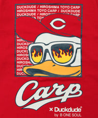 【DUCK DUDE】DD CARP BACK POINT T-SHIRTS