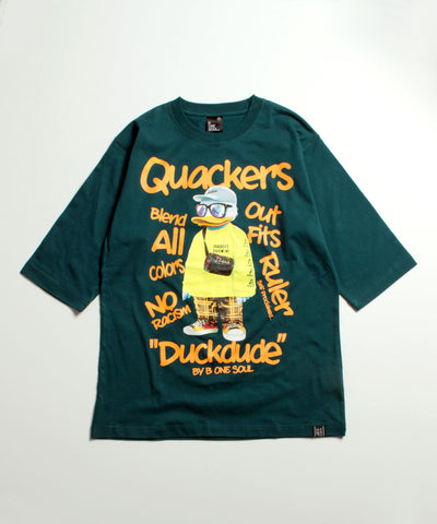 【 DUCK DUDE 】SWAG DUCK 3Q T-SHIRT