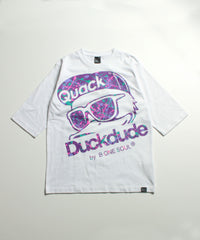 【 DUCK DUDE 】HUGE FACE 3Q T-SHIRT