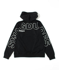 【 DUCK DUDE 】 WIRE FRAME TECH HOODIE