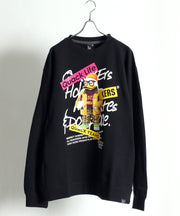 【 DUCK DUDE 】REAL FACE PRINTED SWEATSHIRT