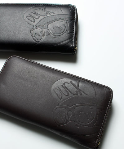 【 DUCK DUDE 】DUCK FACE  LONG WALLET