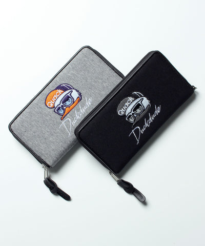 【 DUCK DUDE 】SWEAT LONG WALLET