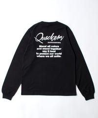 【DUCK DUDE】EMBED LONG SLEEVE T-SHIRT