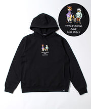 【DUCK DUDE】<BROTHER BEAR & DUCK> EMBED HOODIE