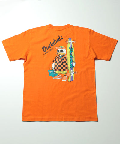 【 DUCK DUDE 】 SKATEBOARD T-SHIRT