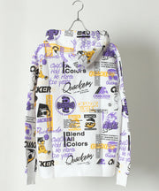 【DUCK DUDE】 ALL PATTERN PRINTED HOODIE