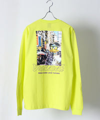 【DUCK DUDE】 TAPIOCA PHOTO PRINTED LONG SLEEVE T-SHIRT