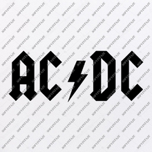 Load image into Gallery viewer, MetallicA-Ac/Dc-lin Svg File-Ac/Dc Svg Design-Clipart-Music Svg File-The Beatles-Vector Graphics -Svg For Cricut-For Silhouette - DXF - EPS