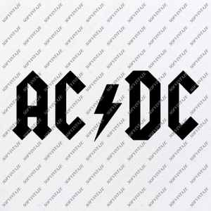 MetallicA-Ac/Dc-lin Svg File-Ac/Dc Svg Design-Clipart-Music Svg File-The Beatles-Vector Graphics -Svg For Cricut-For Silhouette - DXF - EPS