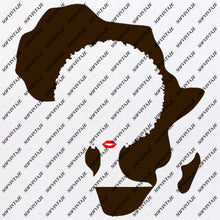 Load image into Gallery viewer, Africa - Africa Girl Svg File - African Continent Svg Design - African Animals Clipart - Vector Graphics - Svg For Cricut - Svg For Silhouette - SVG - EPS - PDF - DXF - PNG - JPG - AI