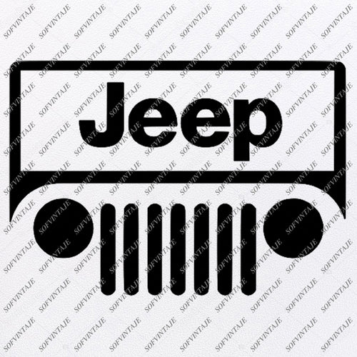 American Jeep Svg Files -American Terrain Svg Design - Original Design - Svg Files For Cricut - Svg For Silhouette - American Jeep Clip art -  SVG - EPS - PDF - DXF - PNG - JPG - AI