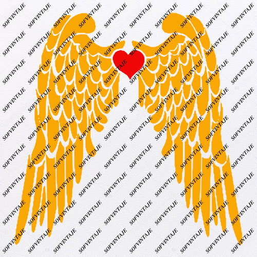 Products Tagged Angel Wings Svg File Sofvintaje