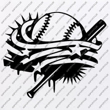 Load image into Gallery viewer, Baseball Svg File -Funny Ball Svg-Basketball Svg-Baseball Clip art- Funny Baseball Svg-Svg For Cricut - Svg For Silhouette - SVG - EPS - PDF - DXF - PNG - JPG - AI