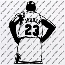 Load image into Gallery viewer, Basketball Svg -Michael Jordan Svg-Basketball Svg-Basketball Clip art-Top Players Svg-Svg For Cricut - Svg For Silhouette - SVG - EPS -PDF - DXF - PNG - JPG - AI