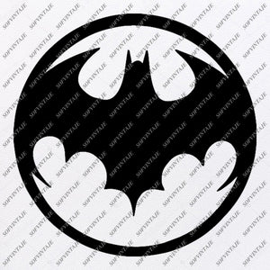 Batman Svg File-Batman Logo Svg Design-Clipart- Batman Svg File-Batman Logo Png-Vector Graphics-Svg For Cricut-For Silhouette - SVG - EPS - PDF - DXF - PNG - JPG - AI