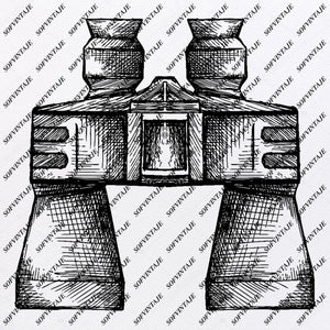 Binoculars - Binoculars Svg File- Lens Original Svg Design-Lens Svg-Clip art- Binoculars Vector Graphics-Svg  For Cricut-Svg For Silhouette - SVG - EPS - PDF - DXF - PNG - JPG - AI