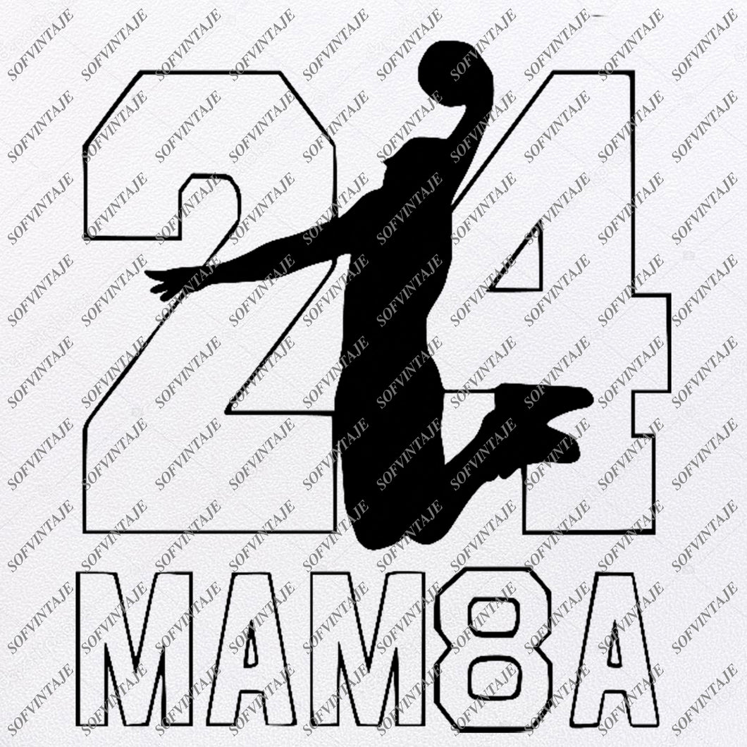 Black Mamba-Kobe Bryant Svg -Los Angeles Lakers Svg-Basketball Svg-Kobe Bryant Clip art-Black Mmba-Top Players Svg-Svg For Cricut - Svg For Silhouette - SVG - EPS -PDF - DXF - PNG - JPG - AI