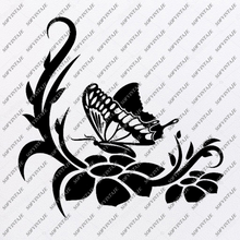 Load image into Gallery viewer, Butterflies Svg-Butterflies Svg File-butterflies Design-Clipart-butterflies-butterflies Png-Vector Graphics-Svg For Cricut-For Silhouette - SVG - EPS - PDF - DXF - PNG - JPG - AI