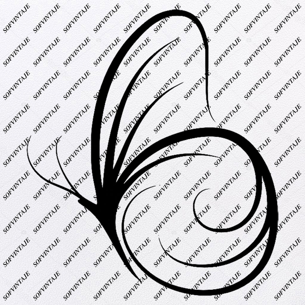 Butterfly -  Butterfly Svg File - Tattoo Svg Design - Clipart - Butterflies Svg Files - Butterfly Png - Vector Graphics - Svg For Cricut - For Silhouette - SVG - EPS - PDF - DXF - PNG - JPG - AI
