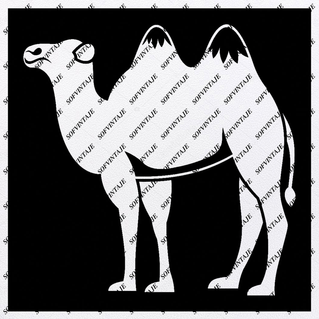 Camel - Camel Svg File - Animals Svg - Animals Svg - Camel Png - Vector Graphics - Svg For Cricut - Svg For Silhouette - SVG - EPS - PDF - DXF - PNG - JPG - AI