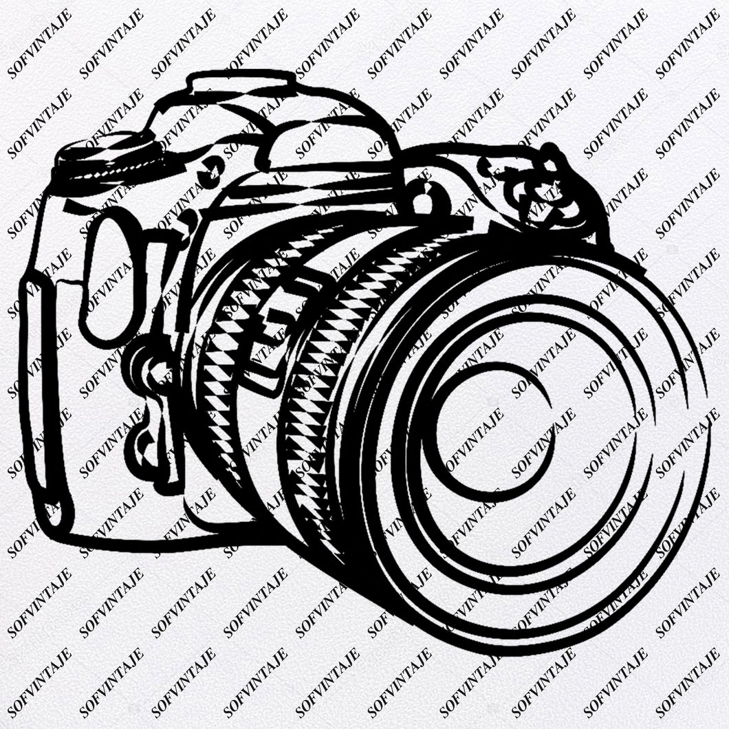 Camera - Camera  Svg  File - Camera Clip art-Camera Svg-Personalized svg - Svg For Cricut - Svg For Silhouette - SVG - EPS - PDF - DXF - PNG - JPG - AI