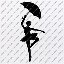 Load image into Gallery viewer, Dance Svg-Ballet dancer Svg Original Design-Dance Clip art-Svg File- Vector Graphics-Svg For Cricut-For Silhouette - SVG - EPS - PDF - DXF - PNG - JPG - AI