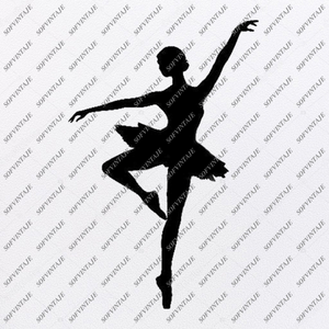 Dance Svg-Ballet dancer Svg Original Design-Dance Clip art-Svg File- Vector Graphics-Svg For Cricut-For Silhouette - SVG - EPS - PDF - DXF - PNG - JPG - AI